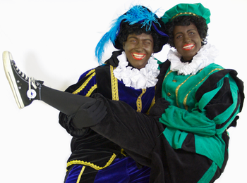Zwarte Pieten komen langs bij GOMOS